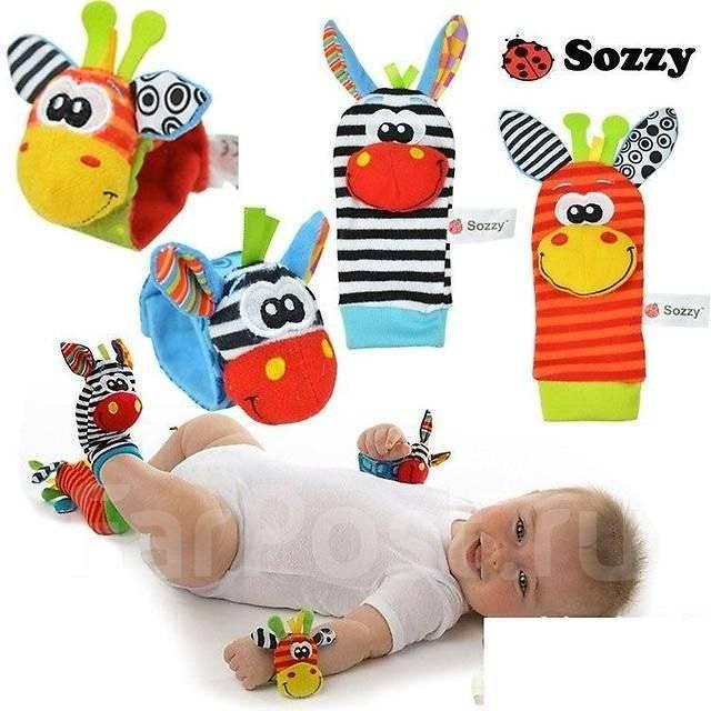 Развивающая игрушка Sozzy 0+