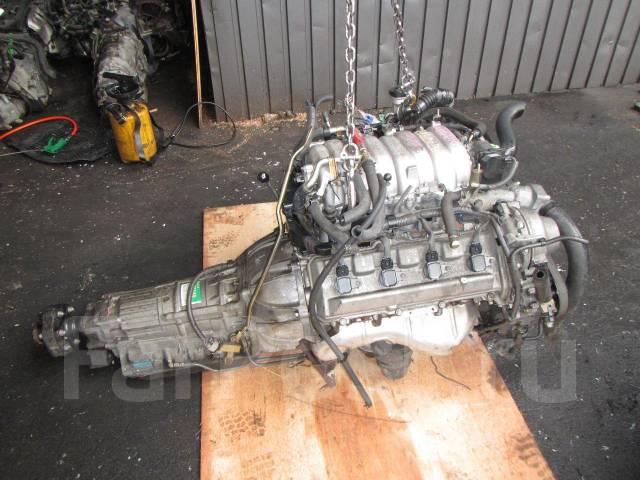 Двигатель. Toyota Celsior Двигатель 3UZFE