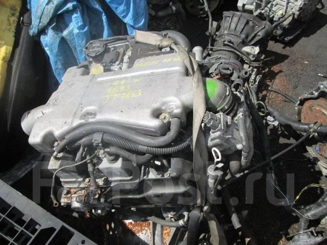 Двигатель. Mitsubishi Pajero iO, H66W, H76W Двигатель 4G93