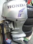 Honda. 50,00л.с., 4х тактный, бензин, нога L (508 мм), Год: 2004 год