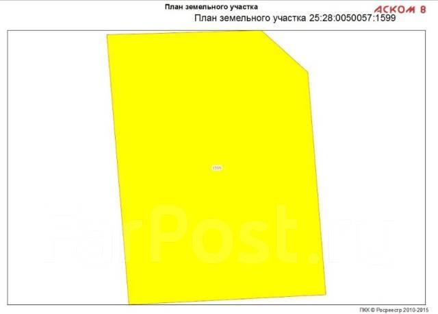 Продам 10 соток на Седанке. 1 002 кв.м., собственность, от агентства недвижимости (посредник). Схема участка