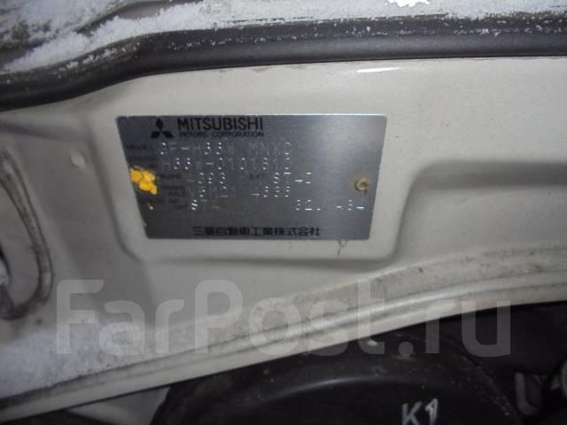Двигатель в сборе. Mitsubishi Pajero iO, H76W, H66W, H61W, H71W Mitsubishi Pajero Pinin Двигатель 4G93