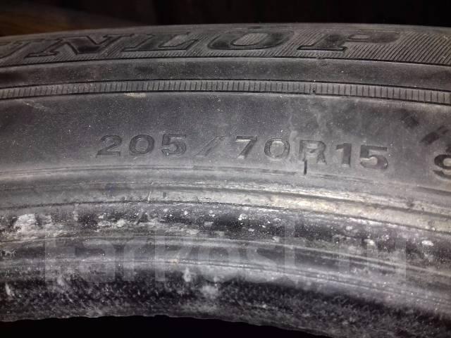 Dunlop. Зимние, 2007 год, износ: 50%, 4 шт
