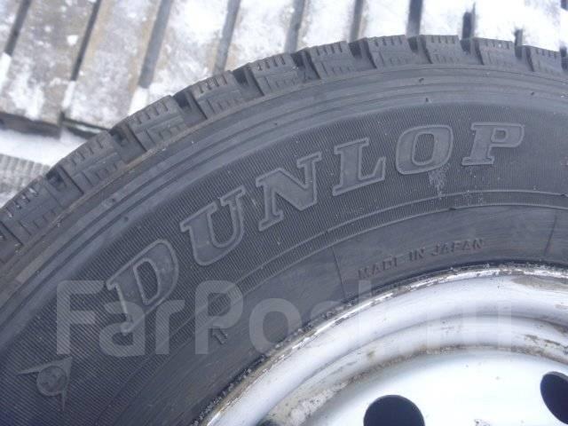 Японские шины Dunlop 165/80R13 с дисками отправка по РФ. 5.0x13 4x100.00 ET38 ЦО 66,1мм.