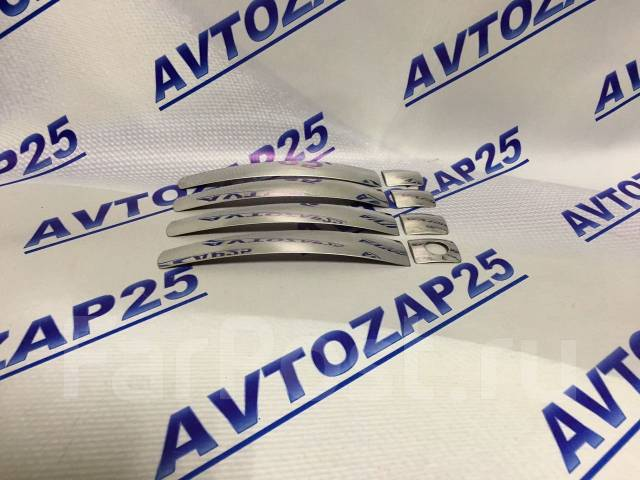 Накладка на ручки дверей. Toyota Vitz