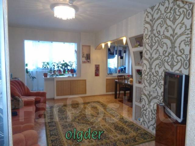 3-комнатная, улица Анны Щетининой 20. Снеговая падь, проверенное агентство, 68 кв.м.