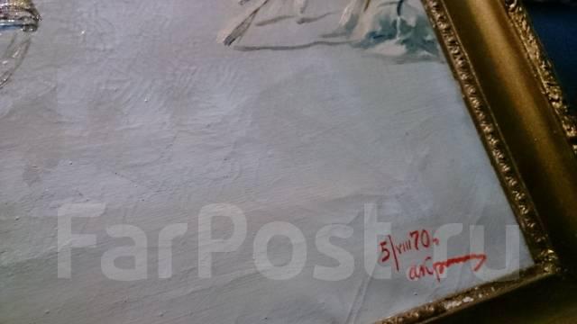 """Репродукция """"зимний вечер""""Н. Н. Дубовского 650*820мм. Копия"""