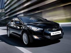 Hyundai Elantra. 5 V MD 2011 чёрный 1.6i 132 л. с АКПП
