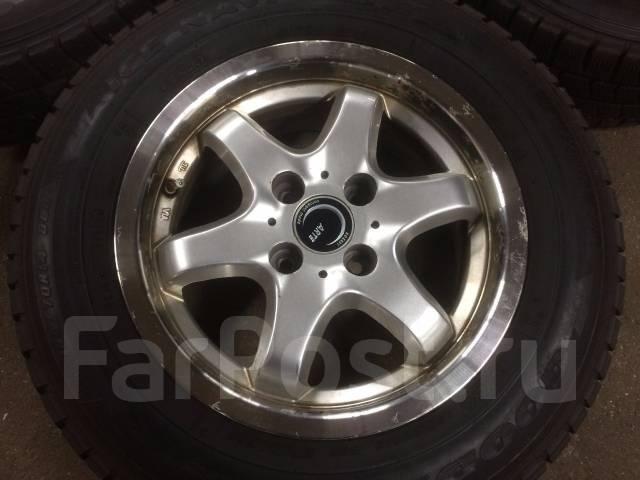 Продам комплект литья R14 4x100 Б/У Япония. 6.0x14, 4x100.00, ET40