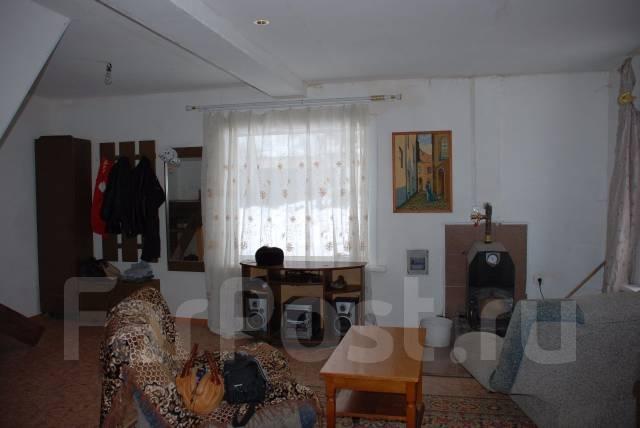 Смирновка, дом два этажа, с удобствами, участок 13 соток.13км от Хбр. С.Смирновка,ул.Новая 1, р-н Железнодорожный, площадь дома 110 кв.м., скважина...