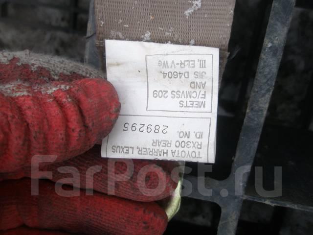 Ремень безопасности. Toyota Harrier, MCU15