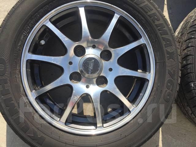 155/65 R13 Kumho Powermax 769 литые диски 4х100 (L8-1301). 4.0x13 4x100.00 ET43