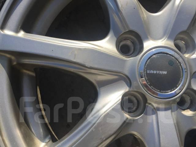 155/65 R14 Bridgestone Revo2 литые диски 4х100 (L8-1402). 4.5x14 4x100.00 ET45