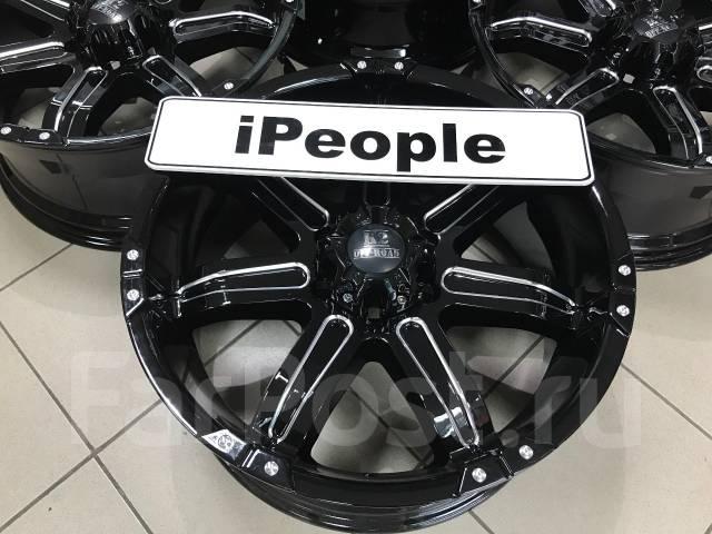 Off-Road-Wheels. 9.0x20, 6x139.70, ET12, ЦО 108,0мм.