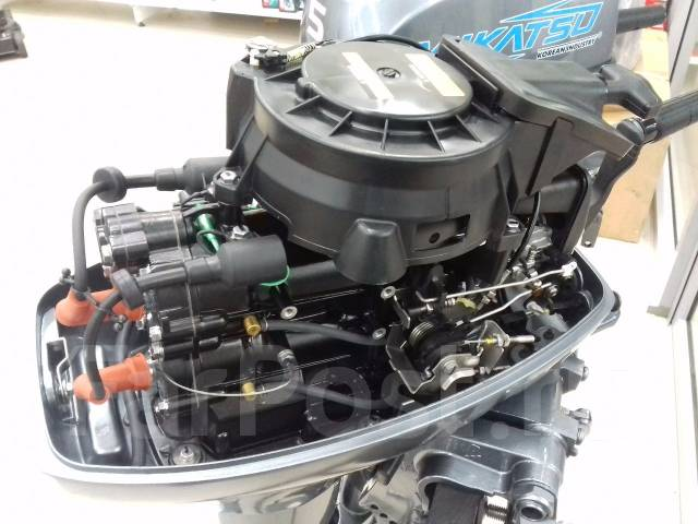 Mikatsu. 15,00л.с., 2х тактный, бензин, нога S (381 мм), Год: 2016 год
