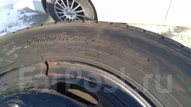 Продам комплект грузовых колёс 7.00R16LT 10PR. 5.5x16 ЦО 130,0мм.