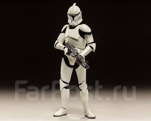 Коллекция фигурок Звездные Войны Clone Tropper. центр, приставкин