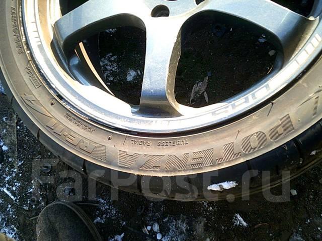 Комплект колес R17 + резина лето. 7.5/8.5x17 5x114.30 ET38/44
