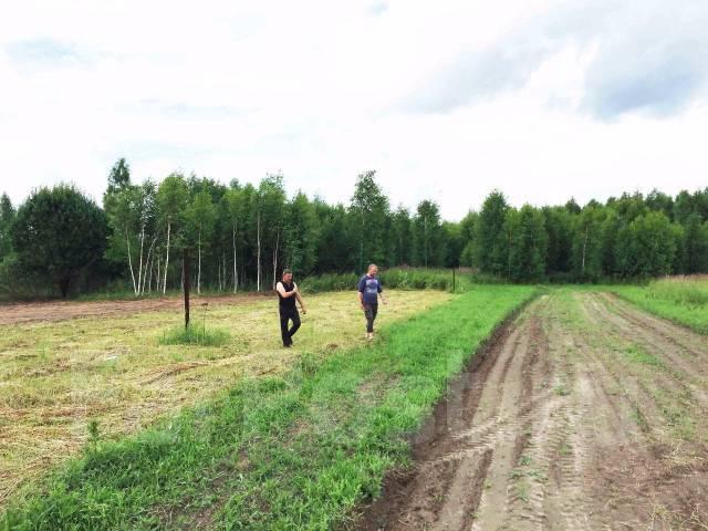 Продается земельный участок. Сергиево-Посадский район, д. Торгашино. 1 200 кв.м., собственность, электричество, от агентства недвижимости (посредник)