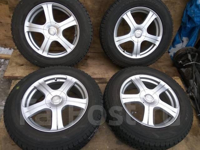 Продам зимние шины 225/65R17 на литых дисках. x17 5x100.00, 5x114.30 ET51
