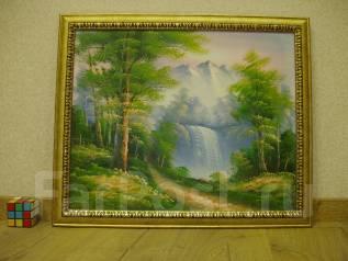 Картина Холст Масло В раме 60см*50см