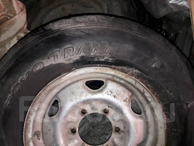 Пара колёс на докатку Toyo на штамповке. x16