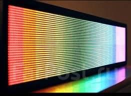 Бегущая строка, LED-экраны