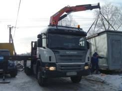 Scania. Продам P420 с манипулятором и прицепом Koegel (контейнеровоз), 16 000 куб. см., 22 000 кг.