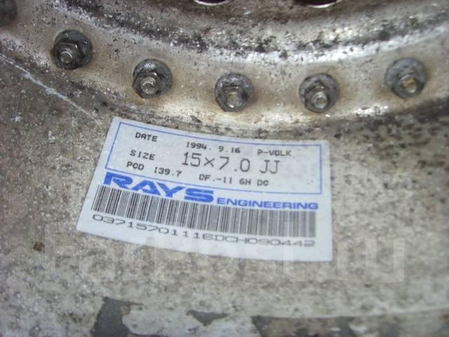 RAYS. 7.0x15, 6x139.70, ET-12, ЦО 108,1мм. Под заказ