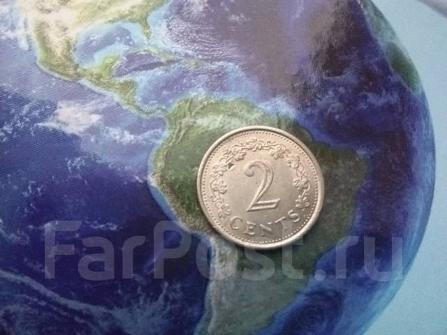 Мальта 2 цента 1977