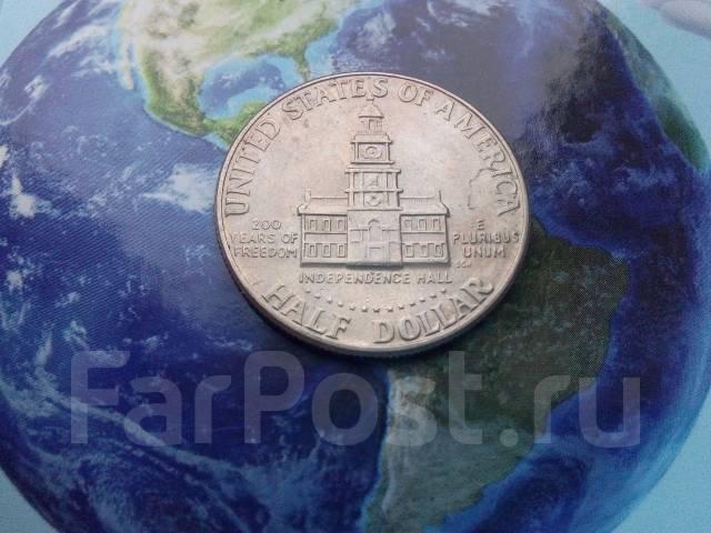США 50 центов 1976 Д. Кеннеди Большая юбилейная монета
