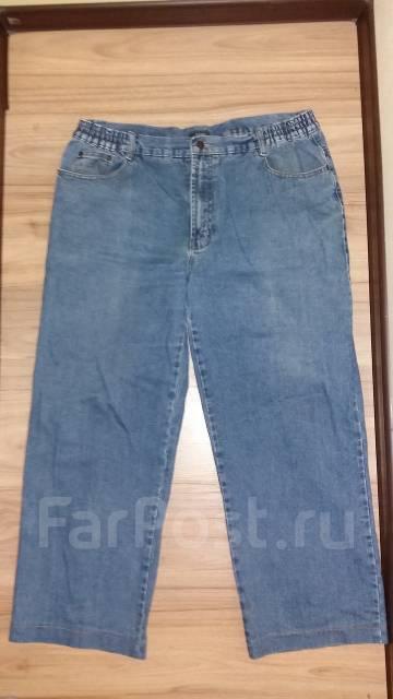 Две пары штанов большого размера! Джинсы и брюки! Одним лотом! С рубля. 56, 58