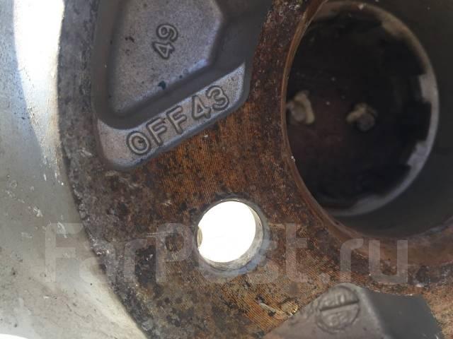 175/65 R14 Bridgestone Revo GZ литые диски 4х100 (L8-1403). 5.5x14 4x100.00 ET43