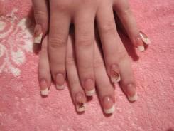 Наращивание ногтей гелием