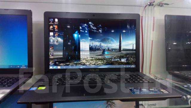"Asus. 15.6"", ОЗУ 4096 Мб, диск 500 Гб, WiFi, аккумулятор на 3 ч."