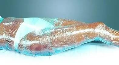 Массаж общий лимфодренажный медовый антицеллюлитный обертывание