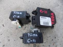 Сервопривод заслонок печки. Nissan Tiida, C11, C11X