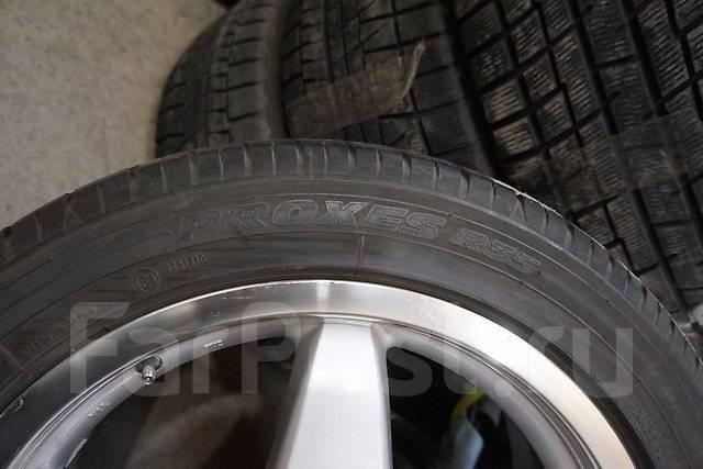 215/50R17 Летние шины с литыми дисками EX. Без пробега по РФ. 7.0x17 5x114.30 ET45 ЦО 73,0мм.