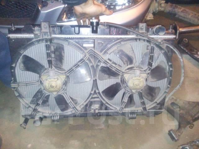 Радиатор охлаждения двигателя. Nissan Bluebird Sylphy, FG10 Nissan Sunny, FB15, B15, FNB15 Nissan AD, VY11, WFY11, VFY11, VHNY11, WHNY11 Nissan Wingro...