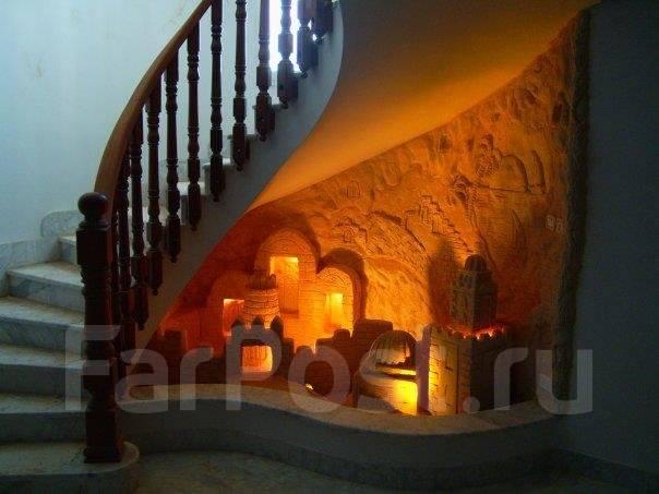Декоративная отделка внутренних интерьеров, барельеф, лепнина.