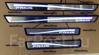 Порог пластиковый. Toyota Prius, ZVW30, ZVW35, ZVW30L