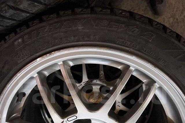 235/45R17 Зимние шины с литыми дисками Mitsubishi. Без пробега по РФ. 7.5x17 5x114.30 ET38 ЦО 67,1мм.