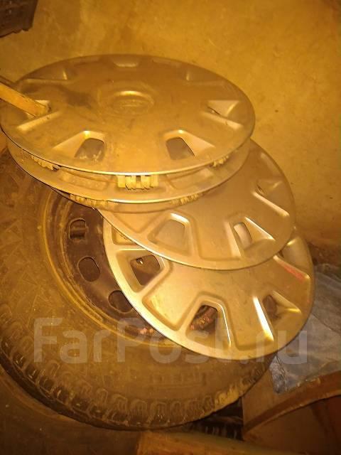 Комплект зимней резины 4 колеса шины на дисках 15 радиус r15 на 195. x15
