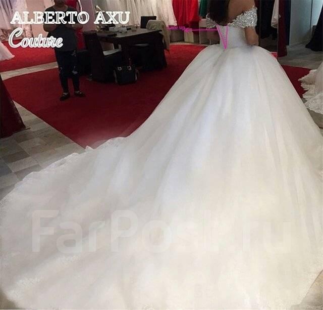 Свадебные платья со шлейфом. Под заказ