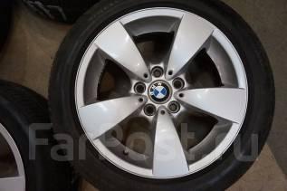 225/50R17 Летние шины с литыми дисками BMW. Без пробега по РФ. 7.5x17 5x120.00 ET20 ЦО 73,0мм.