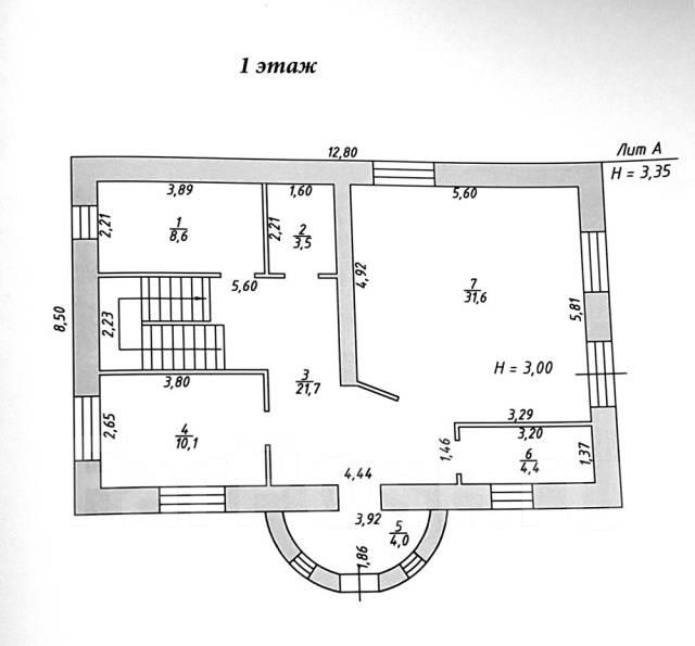 Коттедж 170 кв. м Корсаково - 1. Корсаково - 1, р-н Индустриальный, площадь дома 170 кв.м., скважина, электричество 15 кВт, отопление электрическое...