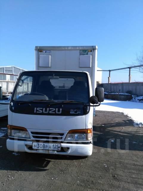 Isuzu Elf. Isuzu ELF, 4 500 куб. см., 2 500 кг.