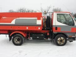 Mitsubishi Canter. MMC Canter 2001г. 4WD! Бензовоз! FG52EB, Двс 4M51 под ПТС, Владивосток, 5 240 куб. см., 3,00куб. м.