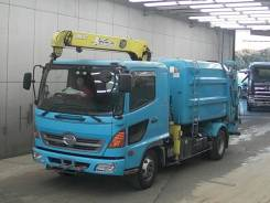 Hino Ranger. Мусоровоз с манипулятором , 7 960 куб. см., 5 000 кг. Под заказ