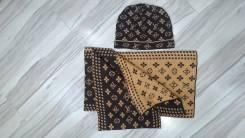 Шапка и шарф. 55, 56, 57, 58, 55-59